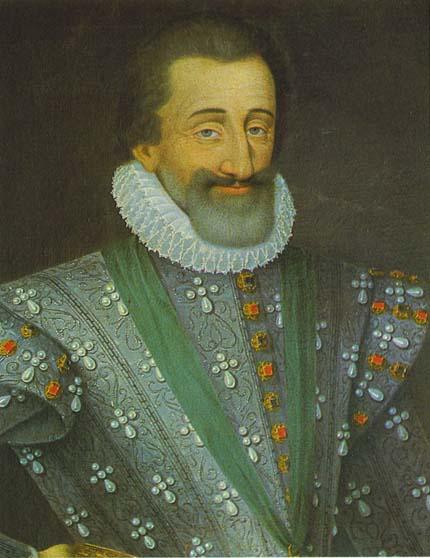 Генрих IV король Франции