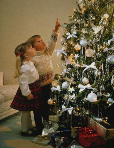 Дети в Рождество