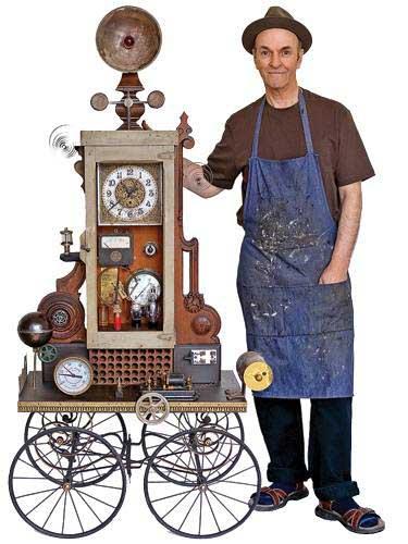 Роджер Вуд и его часы