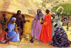 Рождество Христово в Африке