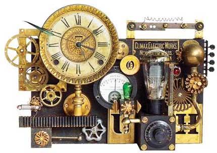Часы приемник