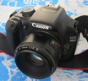 зеркальный фотоаппарат Canon EOS1100D