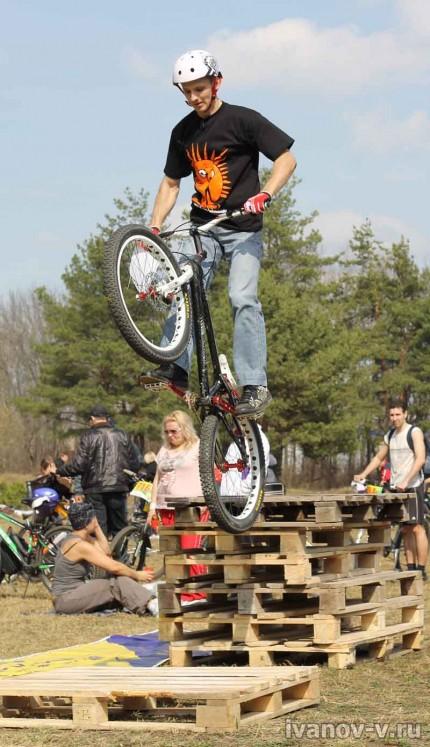 Открытие велосезона 2012 в Твери