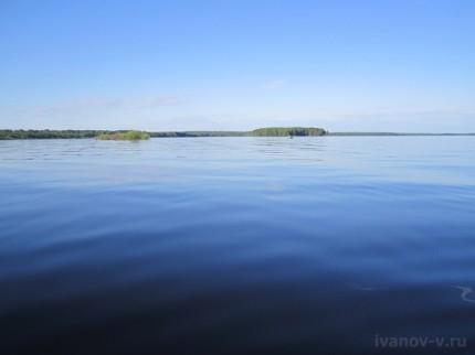 гладь озера Волго