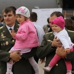 Отцы и дети на празднике ВВС