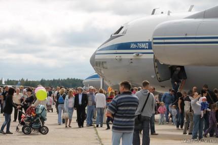 Праздник 100-летие авиации ВВС в Мигалово