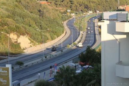 Заметки о Турции - качество дорог