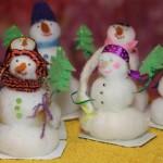 Снеговики в подарок к Новому году