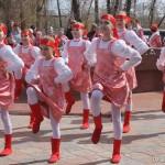 Открытие фонтанов в весенний праздник 1 мая
