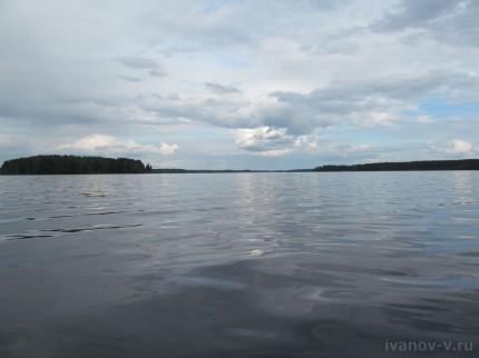 просторы озера Волго