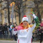 Олимпийский огонь олимпиады «Сочи 2014″ побывал в Твери