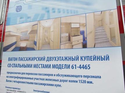 модель двухэтажного вагона
