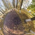 Осенняя 3D панорама