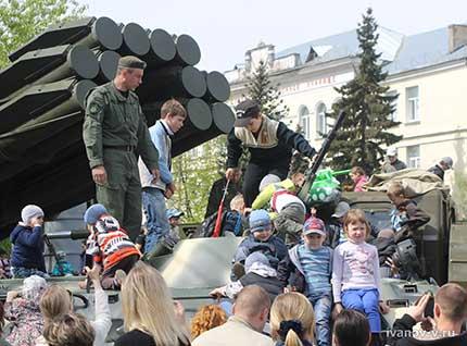 выставка военной техники 9 мая