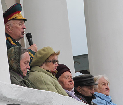 речь ветерана перед молодежью