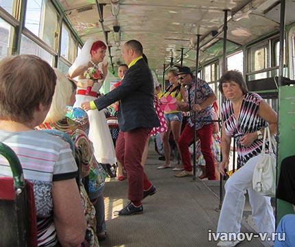 свадьба стиляг в тверском трамвае