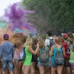 Праздник красок Холи в Твери