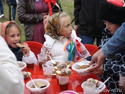 обед на Новолетии в Пречистом Бору
