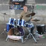 Уличные концерты на ударных инструментах