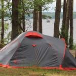 Отдых дикарями на озере Волго