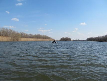 рыбалка на реке Бузан