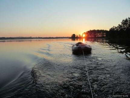 На рыбалку на рассвете